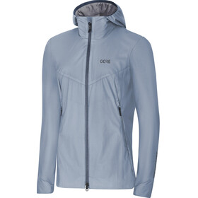 GORE WEAR H5 Windstopper Insulated Hooded Jacket Women cloudy blue/deep water blue